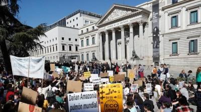 Concentración en Sol, Madrid
