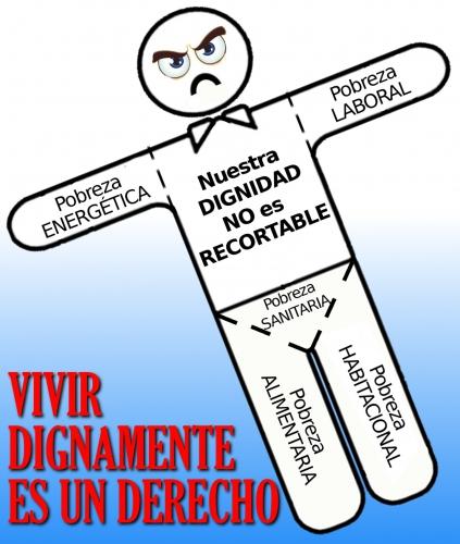 nuestra dignidad no es recortable
