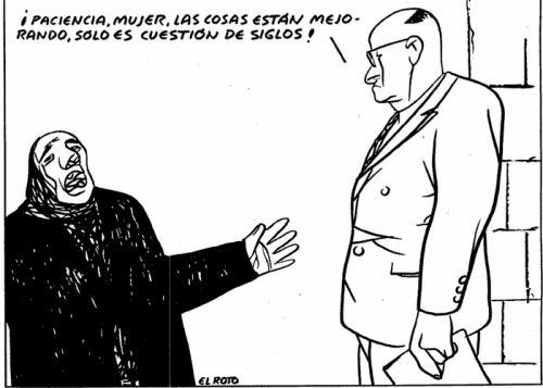 MUJERES Y HOMBRES SOMOS IGUALES, PERO…